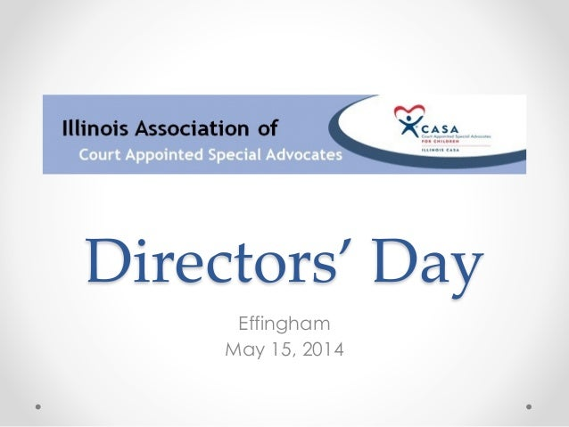 Directors' Day Effingham May 15, 2014
