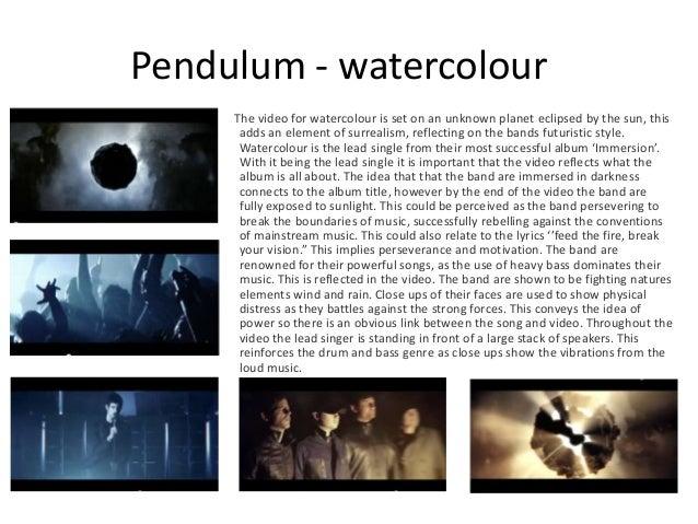 Watercolour By Pendulum Songfacts