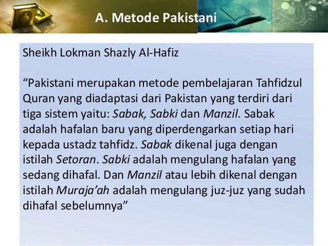 Hasil gambar untuk sheikh lokman shazly sabaq sabki manzil