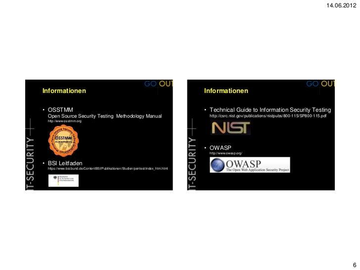 oissg penetration testing methodology pdf