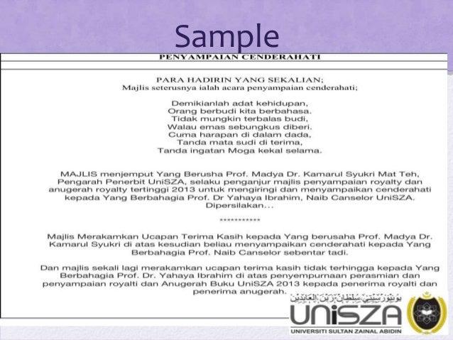 Pengacaraan Majlis (Emceeing for Official Function In Malaysia Contex…