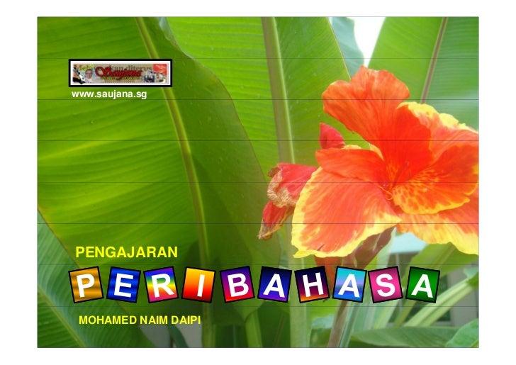 www.saujana.sg     PENGAJARAN     MOHAMED NAIM DAIPI