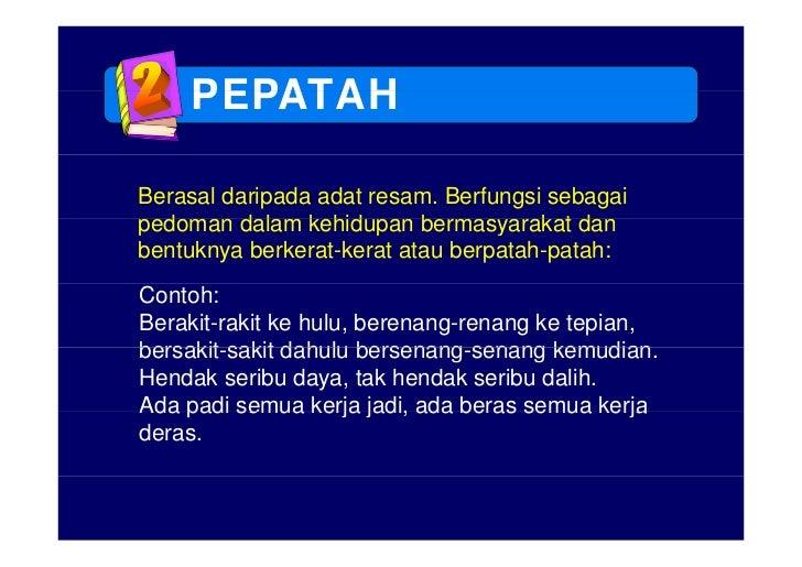 Pengajaran Peribahasa