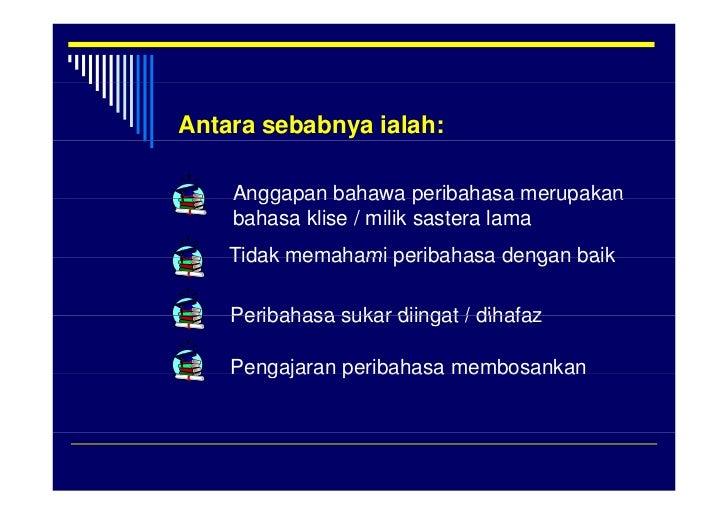 Pengajaran Peribahasa Slide 3