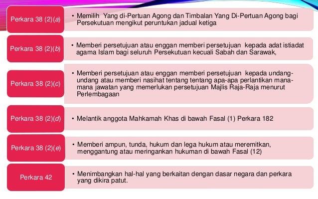 1. BADAN EKSEKUTIF Peringkat Persekutuan • Di Malaysia, kuasa eksekutif dijalankan oleh pentadbiran peringkat Kerajaan Per...