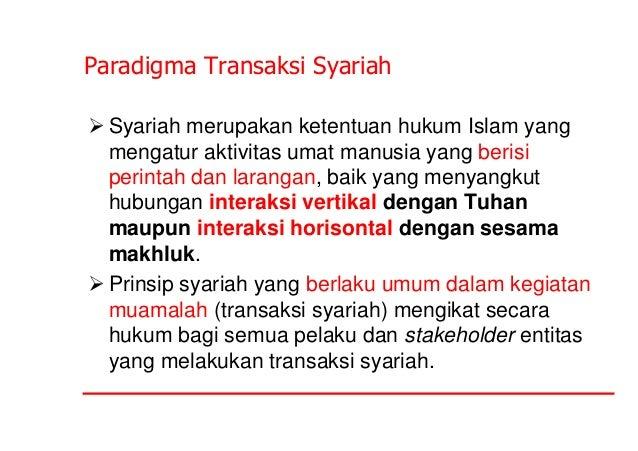 Pengantar akuntansi syariah