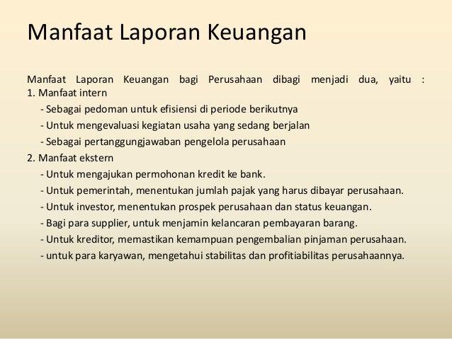 Manfaat Laporan Keuangan Bagi Manajemen Perusahaan Dan Investor Seputar Laporan