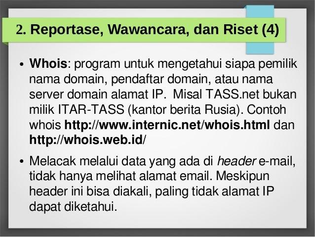 Pengantar Jurnalistik Online