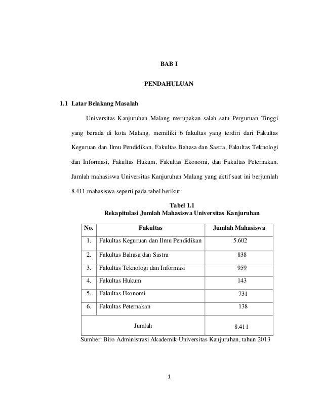 PENGARUH KUALITAS PELAYANAN TERHADAP KEPUASAN PELANGGAN PENGGUNA JASA PARKIR(STUDI PADA MAHASISWA UNIVERSITAS KANJURUHAN M...