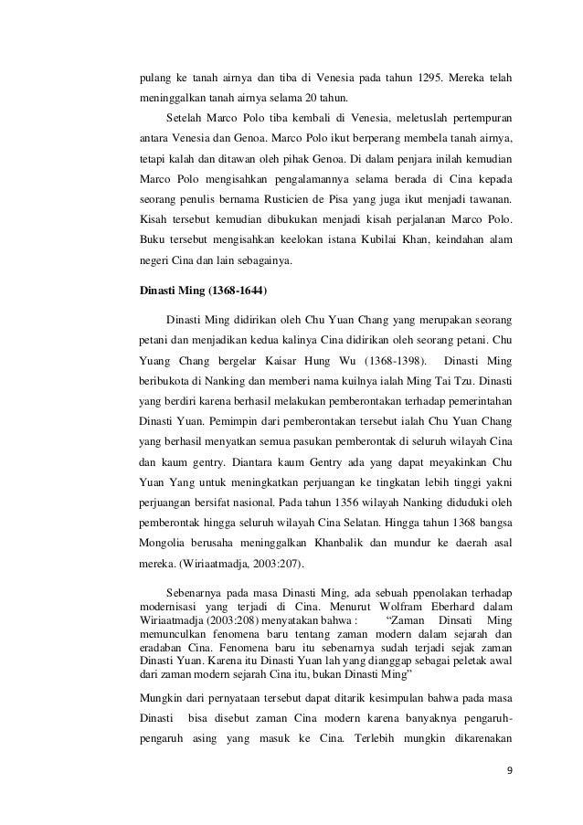 Pengaruh Bangsa Barat Terhadap Runtuhnya Peradaban Di Cina