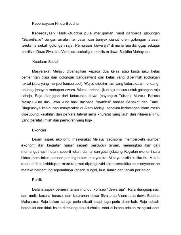 Pengaruh Islam Di Alam Melayu