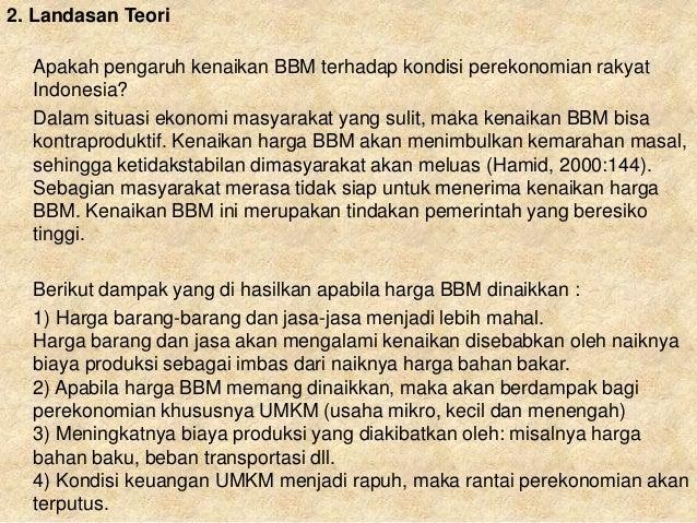 pengaruh kenaikan harga bahan bakar minyak Title: bbm (bahan bakar minyak), author: al - hisyam, name: bbm (bahan bakar minyak), length: 6 pages, page: 1, published: 2012-09-01 pengaruh kenaikan harga bbm issuu company logo.