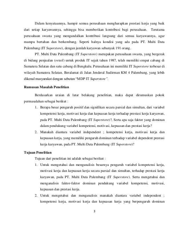 peranan motivasi kerja karyawan Iis yasiroh, 2010 pengaruh gaya kepemimpinan dan motivasi kerja terhadap kinerja karyawan pada kantor pelayanan pajak pratama karawang selatan.
