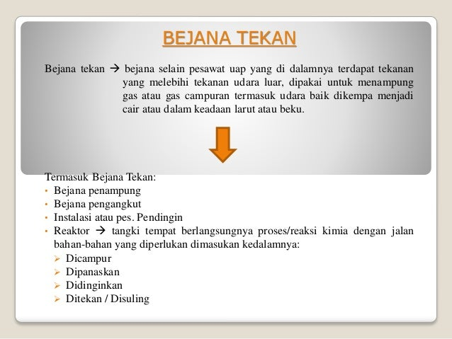 Image Result For Bejana Tekan