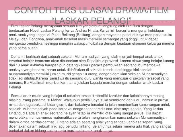 Teks Ulasan Film Drama B Indonesia Oleh Siska Dewi P