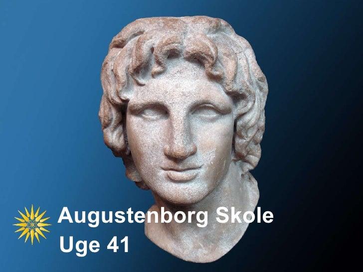 Augustenborg Skole Uge 41