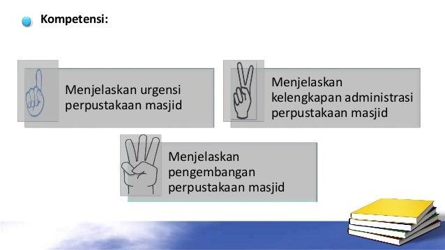 Pengelolaan Perpustakaan Masjid Slide 2