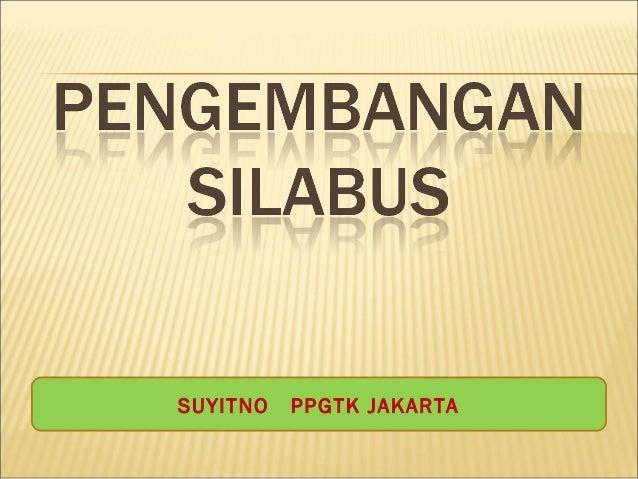 SUYITNO PPGTK JAKARTA