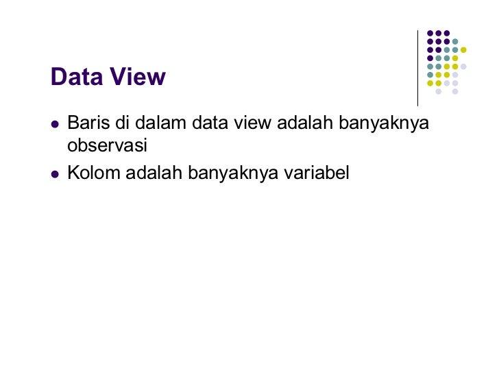Pengenalan spss data view variabel view 7 ccuart Images