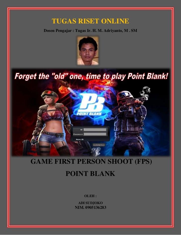 Pengenalan game fps point blank