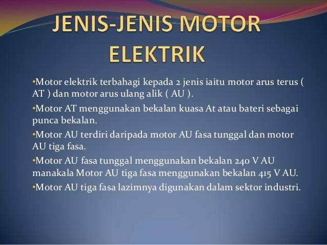 Pengenalan Motor