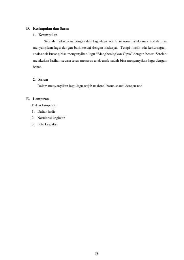 Laporan Individu KKN Unib Periode 73 Pengenalan pramuka