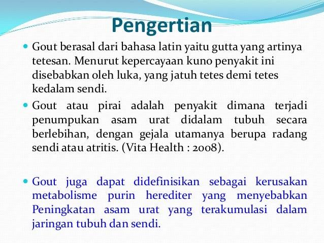 Asuhan Keperawatan Pada Pasien Gout