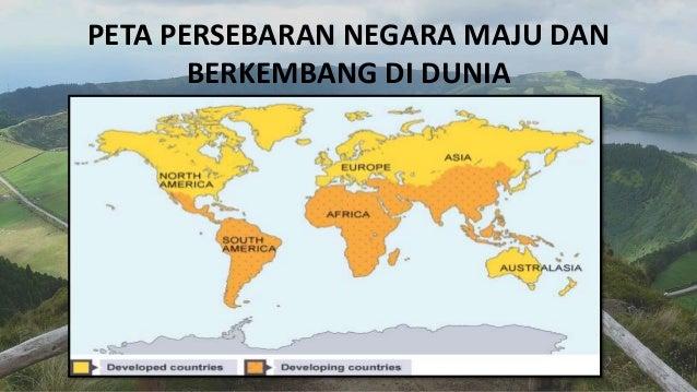 135 Negara Maju dan Negara Berkembang di Dunia (Paling Lengkap)
