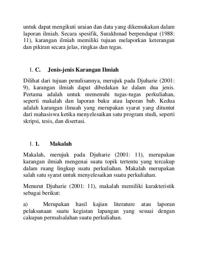 Pengertian bahasa indonesia ilmiah