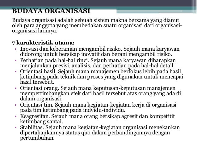 Pengertian Budaya Organisasi Dan Perusahaan Hubungan Budaya