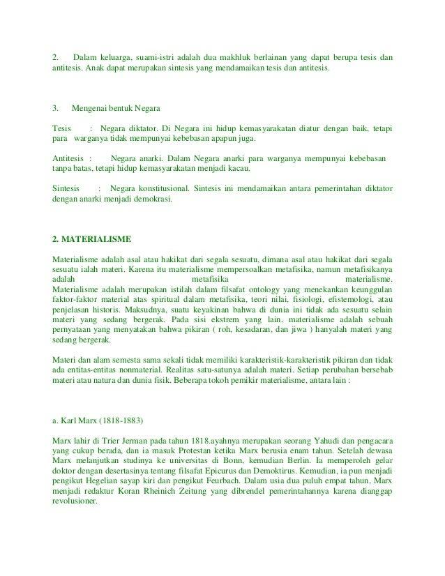 Doc Filsafat Idealisme Mega Wati Academia Edu