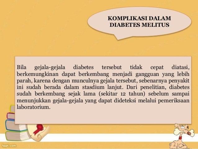 Diet Pada Penyakit Diabetes Melitus 2019