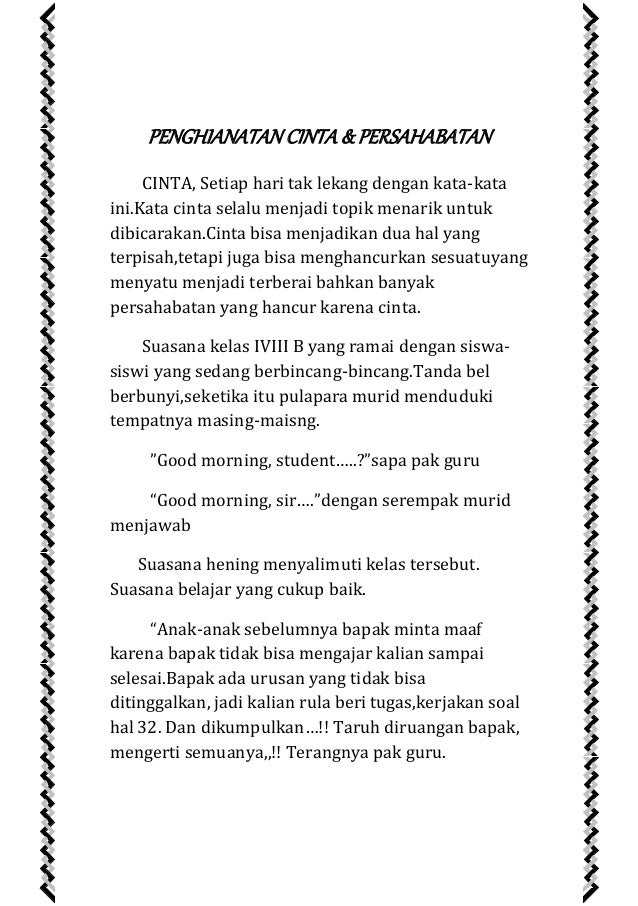 Image Result For Cerita Cerpen Novel Cinta