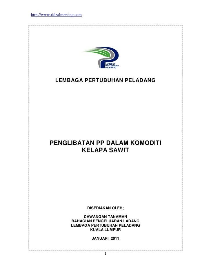 Penglibatan pp dalam komoditi sawit lpp edit (haji azhar)