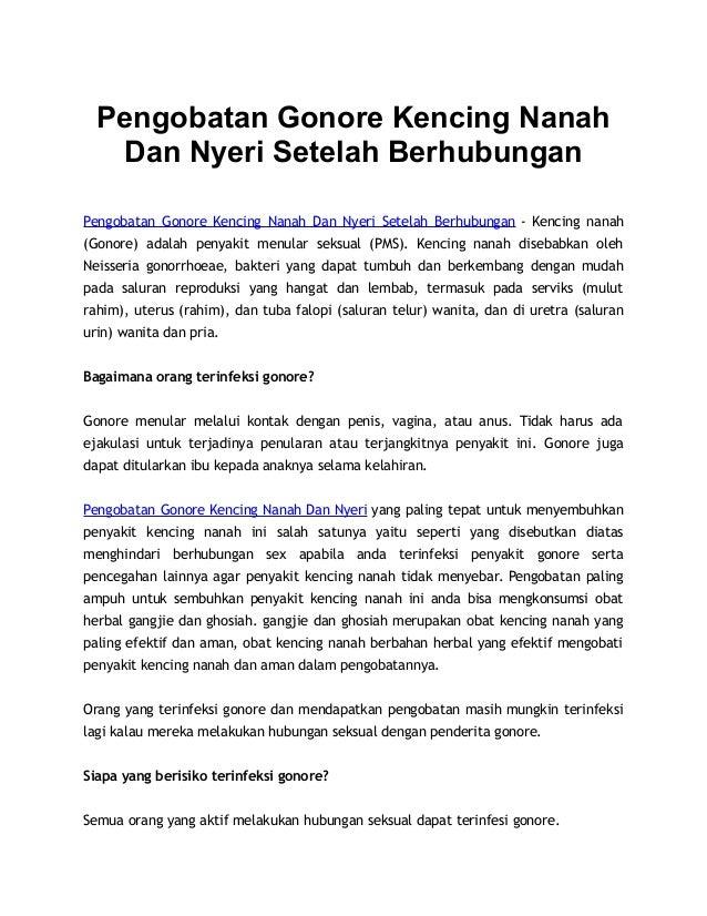 Pengobatan Gonore Kencing Nanah Dan Nyeri Setelah Berhubungan Pengobatan Gonore Kencing Nanah Dan Nyeri Setelah Berhubunga...