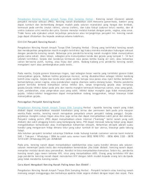 Pengobatan Kencing Nanah Ampuh Tanpa Efek Samping Herbal - Kencing nanah (Gonore) adalah penyakit menular seksual (PMS). K...