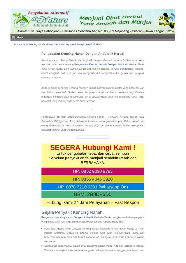Home » Obat Kencing Nanah » Pengobatan Kencing Nanah Dengan Antibiotik Herbal Pengobatan Kencing Nanah Dengan Antibiotik H...