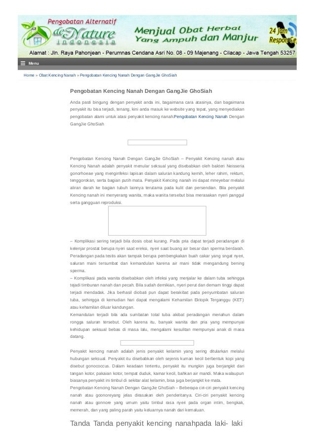 Home » Obat Kencing Nanah » Pengobatan Kencing Nanah Dengan GangJie GhoSiah Pengobatan Kencing Nanah Dengan GangJie GhoSia...