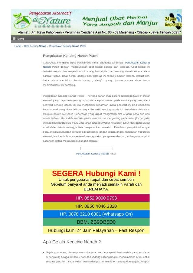 Home » Obat Kencing Nanah » Pengobatan Kencing Nanah Paten Pengobatan Kencing Nanah Paten Cara Cepat mengobati sipilis dan...