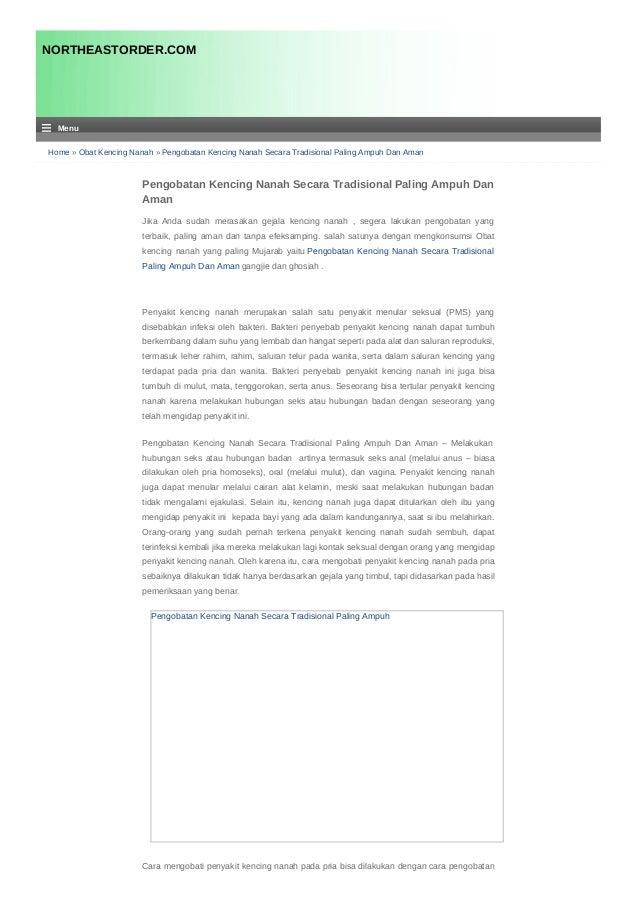 Home » Obat Kencing Nanah » Pengobatan Kencing Nanah Secara Tradisional Paling Ampuh Dan Aman Pengobatan Kencing Nanah Sec...