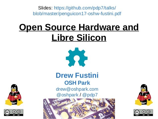 Open Source Hardware and Libre Silicon