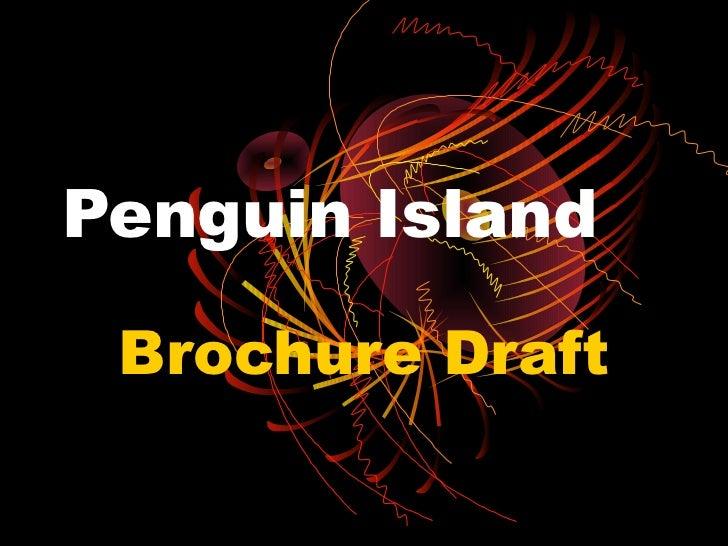 Penguin Island Brochure Draft