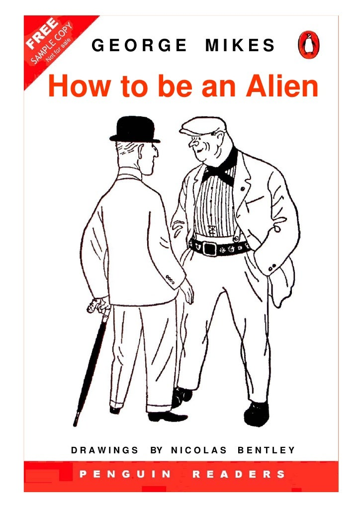 Penguin readers -_how_to_be_an_alien_-_level_3