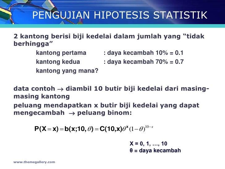 Statistika Pengujian Hipotesis