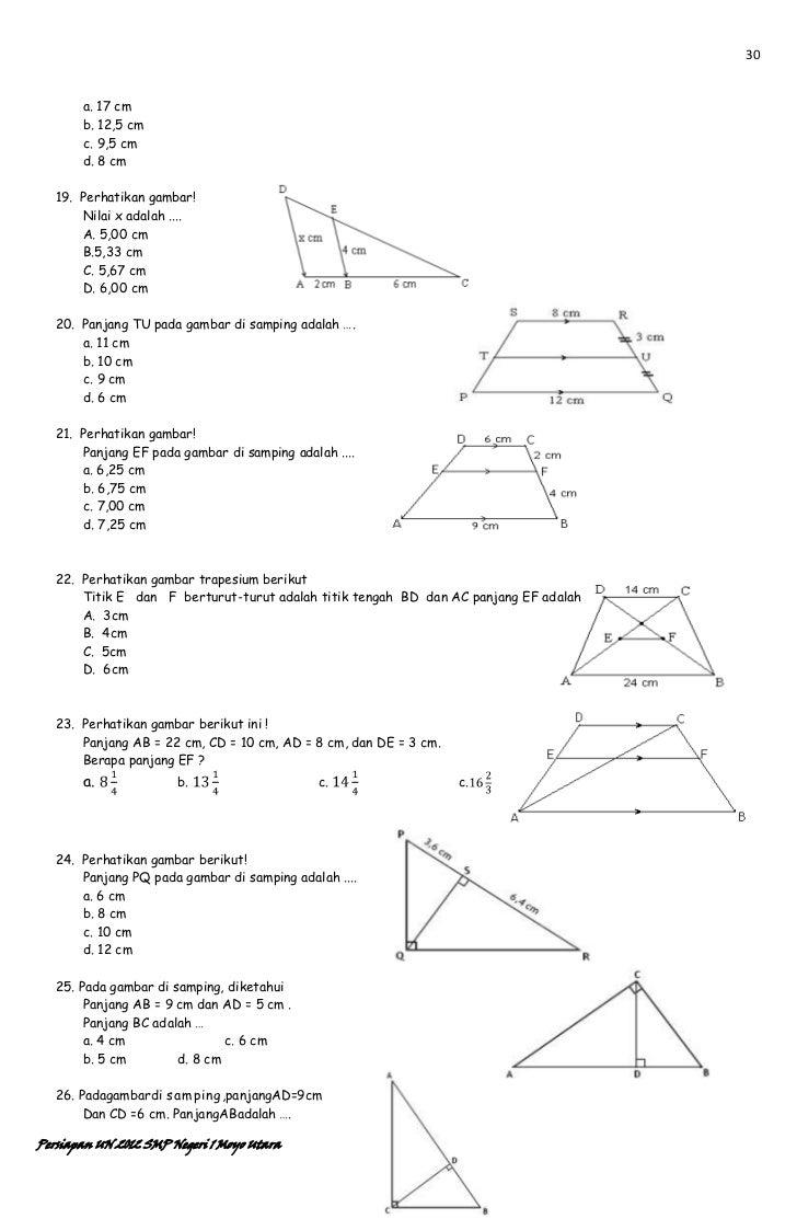 Pengayaan Matematika SMP un 2012 94a2ebe747