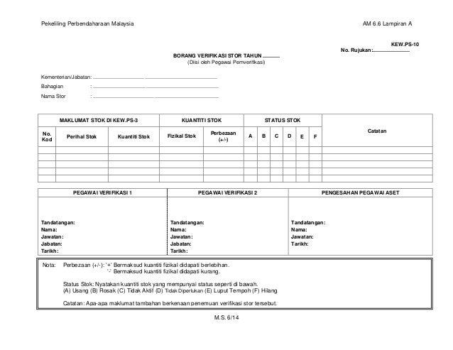 Pengurusan Stor Am 6 23042018