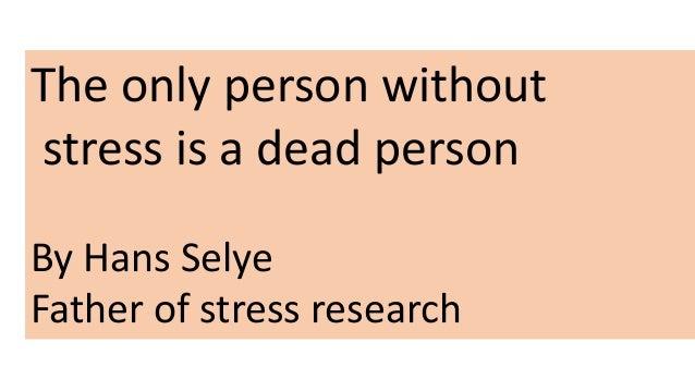 Pengurusan stres  dengan cemerlang Slide 3