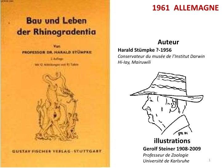 1961 ALLEMAGNE                   AuteurHarald Stümpke ?-1956Conservateur du musée de l'Institut DarwinHi-Iay, Mairuwili   ...