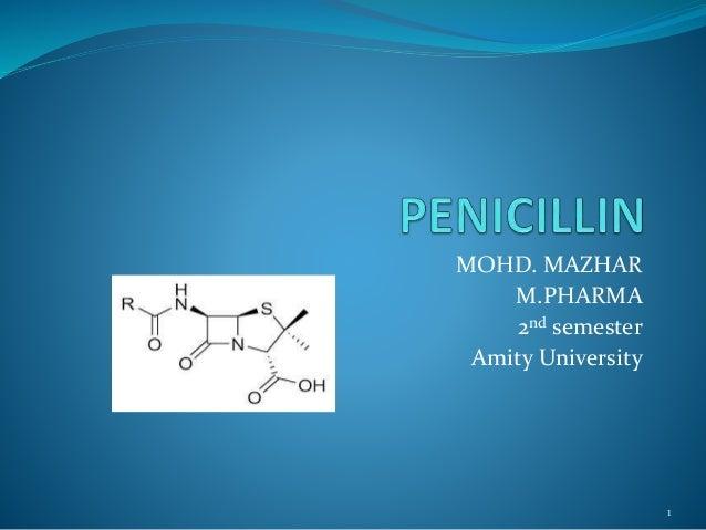 MOHD. MAZHAR M.PHARMA 2nd semester Amity University 1