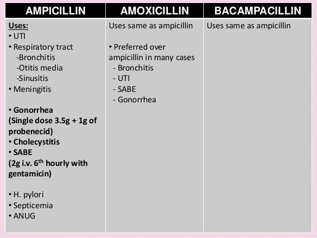 Ampicillin Dosage For Uti